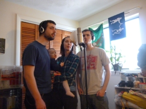 recording group vocals - rise like fire